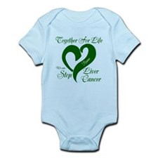 Personalize Stop Liver Cancer Infant Bodysuit