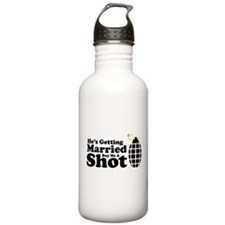 Bachelor's Shirt Water Bottle
