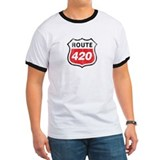 Vintage styled distressed 420 T
