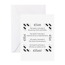 Elliot Spellings Greeting Card