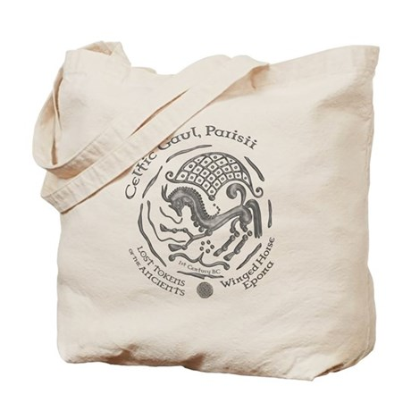 Celtic Epona Coin Tote Bag
