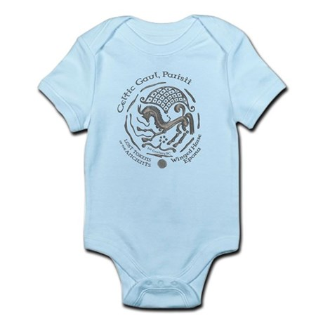 Celtic Epona Coin Infant Bodysuit