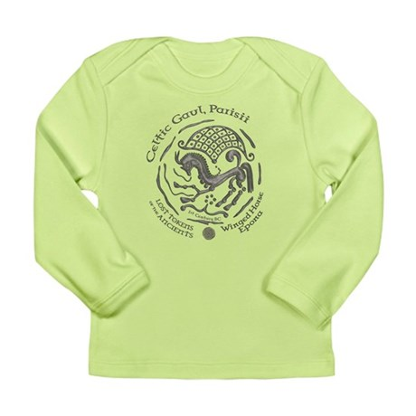 Celtic Epona Coin Long Sleeve Infant T-Shirt