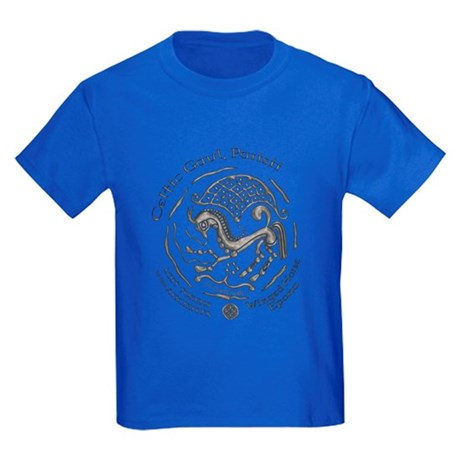 Celtic Epona Coin Kids Dark T-Shirt