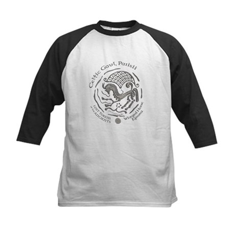 Celtic Epona Coin Kids Baseball Jersey