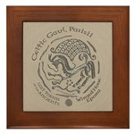 Celtic Epona Coin Framed Tile