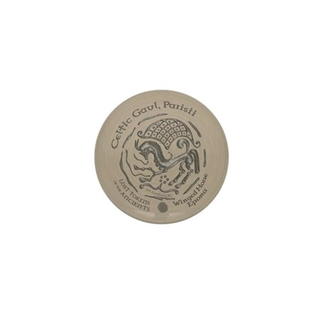 Celtic Epona Coin Mini Button