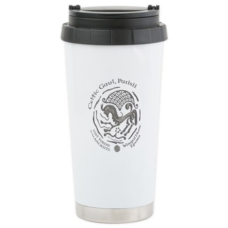 Celtic Epona Coin Ceramic Travel Mug