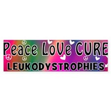 Cool Leukodystrophies Bumper Sticker