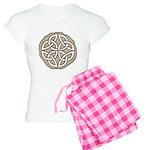 Celtic Knotwork Coin Women's Light Pajamas