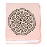 Celtic Knotwork Coin baby blanket