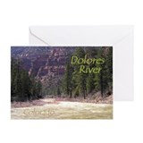 Dolores River Ponderosa Gorge Card
