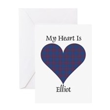 Heart - Elliot Greeting Card