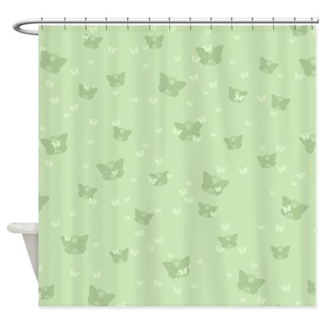 Celtic Butterflies Shower Curtain
