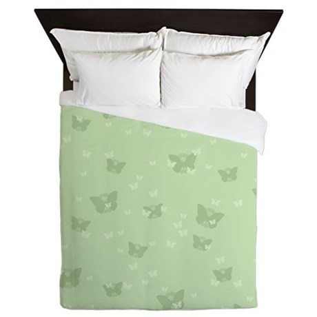 Celtic Butterflies Queen Duvet Cover
