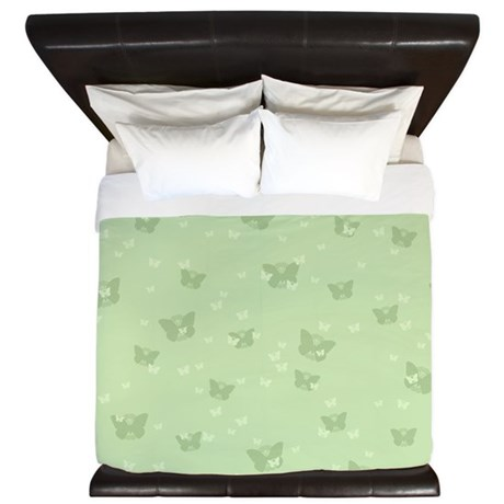 Celtic Butterflies King Duvet Cover