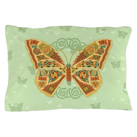 Celtic Butterfly Pillow Case