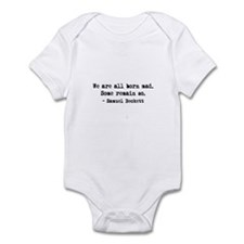 Beckett quote Infant Bodysuit
