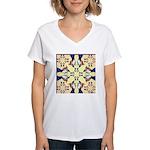 Guineas Galore! Women's V-Neck T-Shirt