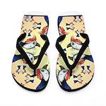 Guineas Galore! Flip Flops