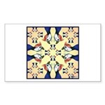 Guineas Galore! Sticker (Rectangle 10 pk)