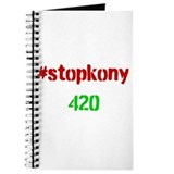 #stopkony 420 Journal