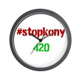 #stopkony 420 Wall Clock
