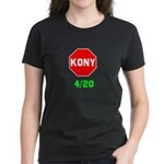Stop Kony 420 Women's Dark T-Shirt