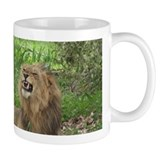 Small Mug with angry lion