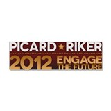 Cute Riker Car Magnet 10 x 3