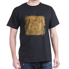 Vitruvian MUSCLEHEDZ - T-Shirt