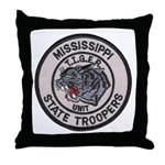 Tiger Unit Throw Pillow