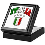 4 Star Italia Soccer Keepsake Box