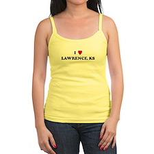 I Love Lawrence Ladies Top