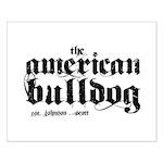 American Bulldog Small Poster