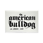 American Bulldog Rectangle Magnet
