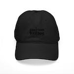 American Bulldog Black Cap