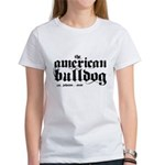 American Bulldog Women's T-Shirt