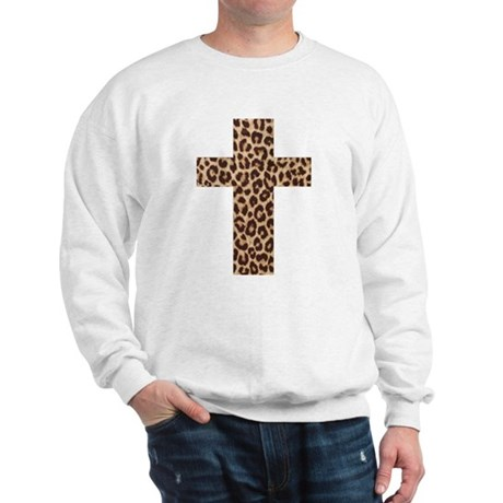 LEOPARD CROSS Sweatshirt