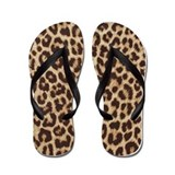 LEOPARD PRINT Flip Flops