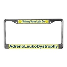 Unique Leukodystrophies License Plate Frame