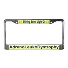 Cute Leukodystrophies License Plate Frame