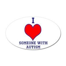 autismawareness2012 22x14 Oval Wall Peel