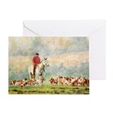 Foxhunt Greeting Card