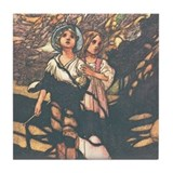 Charles Robinson's Hansel &amp; Gretel Tile Coaster