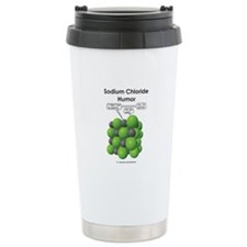 Sodium Chloride Humor Ceramic Travel Mug