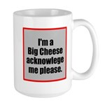 Big Cheese Large Mug