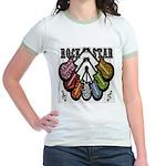 Rock Star Guitars III Jr. Ringer T-Shirt
