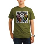 Rock Star Guitars III Organic Men's T-Shirt (dark)