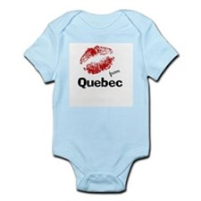 Kisses from Quebec Infant Bodysuit